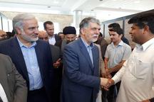 وزیر فرهنگ و ارشاد اسلامی وارد ایرانشهر شد