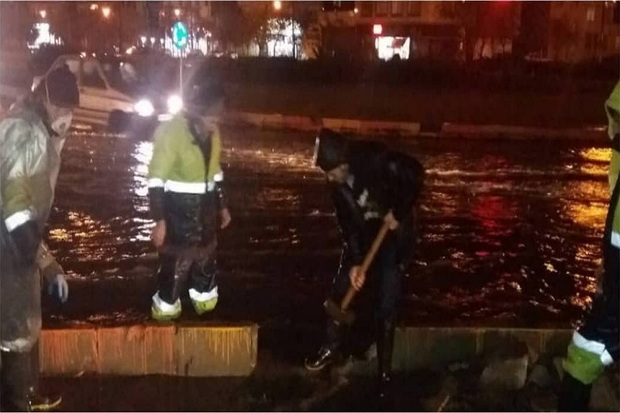 23 مورد آبگرفتگی در سطح شهر قزوین رفع شد
