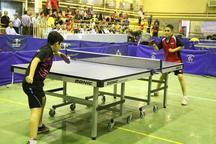 رقابت های تنیس روی میز نونهالان کشور در سقز آغاز شد