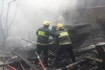 حال آتش نشان مصدوم حادثه آتش سوزی شهرکرد مساعد است
