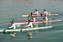 درخشش قایقرانان گیلانی در تست انتخابی تیم ملی آبهای آرام
