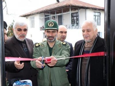 افتتاح دو منزل مسکونی محرومین در بخش مرکزی تالش