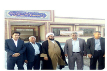 چهارمین مدرسه آیت الله سیستانی در نیمروز سیستان افتتاح شد