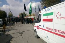 اورژانس ۱۱۵ اصفهان در تاسوعا و عاشورای حسینی آمادهباش کامل است