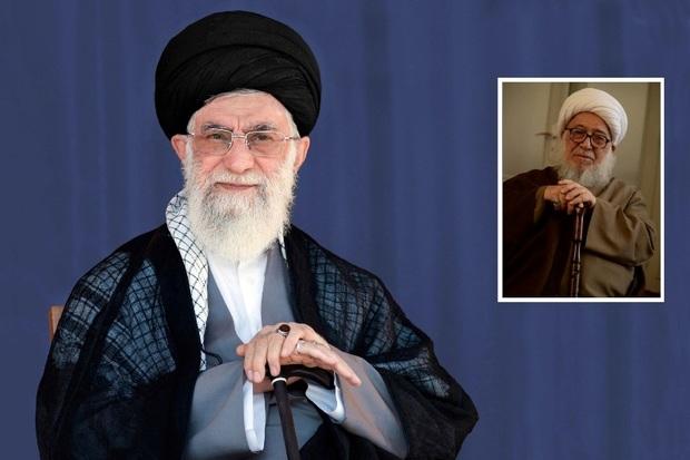 رهبر انقلاب درگذشت آیت الله اشرفی شاهرودی را تسلیت گفتند