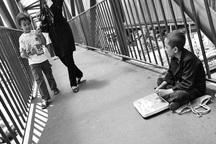 پر کشیدن آرزوهای کودکانه از کف خیابان