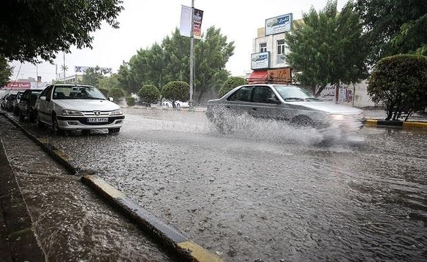 بارش باران و برف مهمانان بهاری استان مازندران