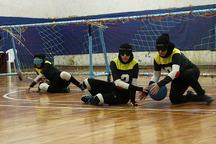 لیگ گلبال زنان  تهران قهرمان شد  گلستان سوم