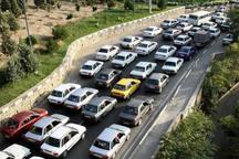 قفل ترافیک تعطیلات زمستانه بر جاده های خروجی مازندران