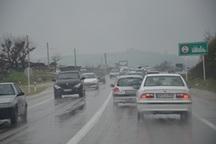 راه های خراسان جنوبی بارانی و لغزنده است