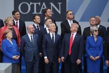 عکسی کنایه آمیز از جلسه سران کشورهای شرکت کننده در نشست ناتو