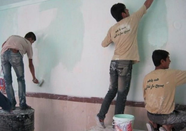 بازسازی 8 مدرسه قرچک آغاز شد