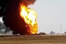 زمان دقیقی برای مهار آتش خط لوله نفتی امیدیه نمیتوان اعلام کرد