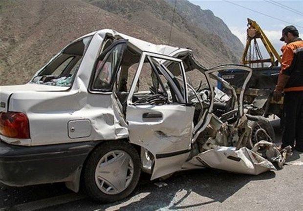۱۳ مجروح و یک فوتی در تصادفات جادهای خراسان رضوی