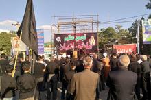 اجتماع عظیم عاشورایان حسینی در بیجار برگزار شد