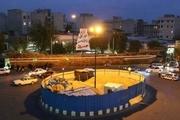 نشت آب در کارگاه مترو میدان قیام تهران ضلع شمالی میدان قیام مسدود  است
