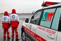 امداد رسانی به 111 مورد تصادف جاده ای توسط هلال احمر بروجرد