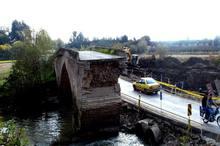 آغاز مرمت پل تاریخی سیکاپل در جویبار