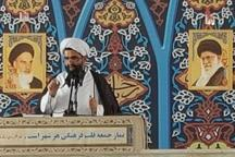 امام جمعه کیش: دشمن با شایعه پراکنی قصد نفوذ در ایران را دارد