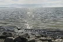 شرایط امیدبخش دریاچه ارومیه بعد از بارش های اخیر و باز شدن سدها   عکس
