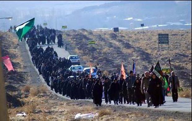 162 هزار زائر پیاده وارد مشهد شدند