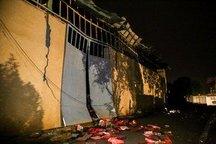 نشت و انفجار گاز در یک منزل مسکونی در کرکج
