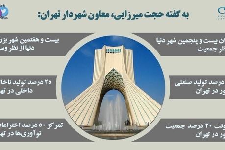 تهران شناسی به روایت اینفوگرافی