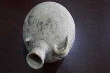 کشف کوزه سفالی با قدمت بیش از 1500 سال در محوطه تاریخی فرهادگرد فریمان