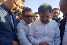 عملیات اجرایی چهارطرح با حضور وزیر راه در شاهرود آغاز شد