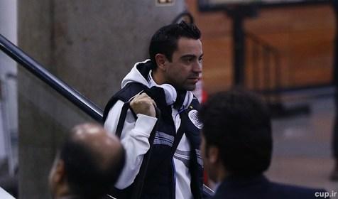 تصویری از ژاوی در هتل پیش از دیدار تیمش مقابل استقلال