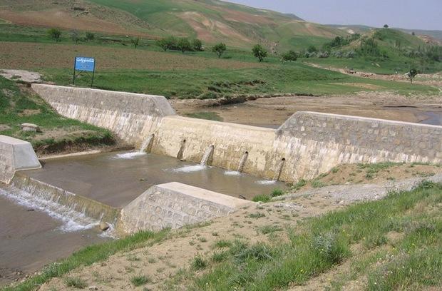 سازه نوین آبخیزداری در مراوه تپه احداث شد