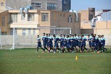 تیم فوتبال ۹۰ ارومیه در کرج اردو زد