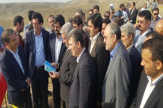 وزیر نیرو وارد استان اردبیل شد