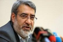 وزیر کشور وارد یزد شد