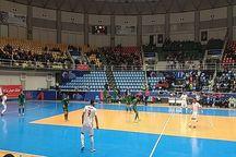تیم ملی فوتسال ایرانمقابل ترکمنستان ۴ بر صفر پیروز شد