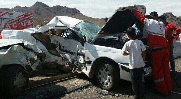 تصادف رانندگی در جاده تایباد - باخرز یک کشته داشت