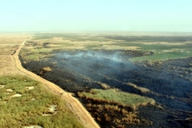 مهار آتش در هورالعظیم هزینه های میلیاردی در بر داشت