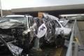 تصادف 2 خودرو سواری در بزرگراه کرج یک کشته و 5 مصدوم داشت