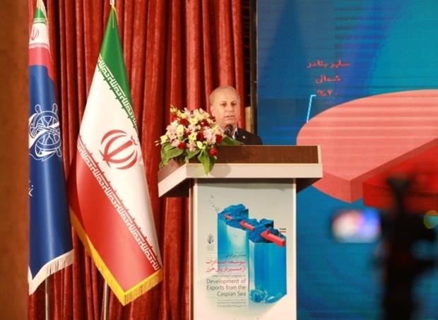 همایش بین المللی صادرات ازمسیر دریای خزر در ساری گشایش یافت