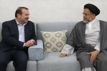 دیدار نوروزی استاندار فارس با وزیر اطلاعات