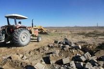 82 هکتار از اراضی ملی شهرستان پلدختر رفع تصرف شد