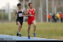 دونده نابینای همدانی دومین مدال طلای جهانی را کسب کرد