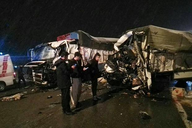 تصادف در جاده دیواندره - سنندج یک کشته بر جا گذاشت