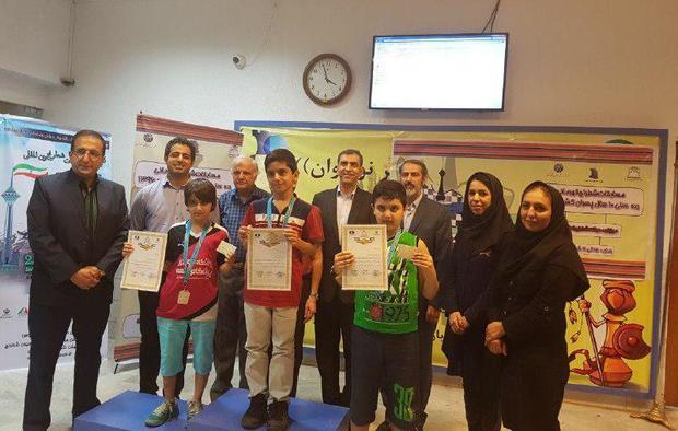 پسران تهرانی قهرمان مسابقات رده های سنی شطرنج کشور شدند