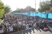 سجده شکر کرمانشاهی ها در عید بندگی و نیایش