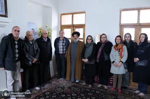 تجدید میثاق و ادای احترام شورای خلیفه گری ارامنه نسبت به امام خمینی(س)