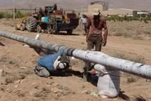 گاز مناطق شهری و روستایی دچار رانش شرق گلستان وصل شد
