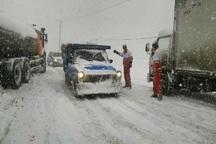 کولاک سه گردنه استان قزوین را فراگرفت