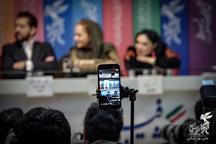 تصاویری از پشت صحنه سینمای رسانه در جشنواره 37