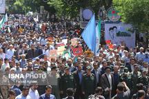 مسیرهای ۷ گانهی راهپیمایی روز جهانی قدس در تبریز